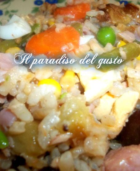 Insalata di riso alla siciliana (sicilia)