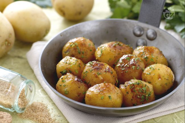 Ricetta patatine novelle caramellate