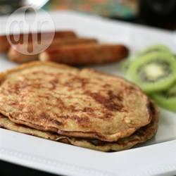 Pancakes di banana senza glutine