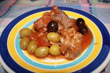 Ricetta spezzatino con le olive