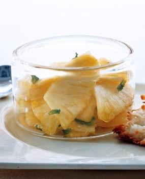 "Ricetta ananas ""mint julep"""