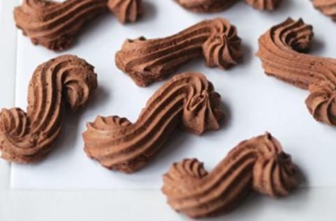 Riccioli al cioccolato