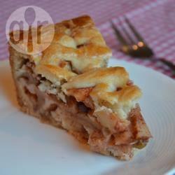 Appeltaart (crostata di mele olandese)
