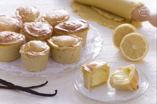 Ricetta pasticciotti ricotta e crema di limone