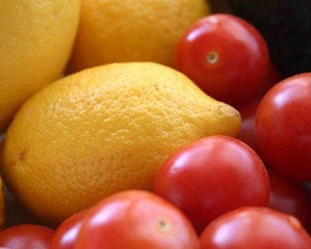 Ricetta granita di limone e pomodoro