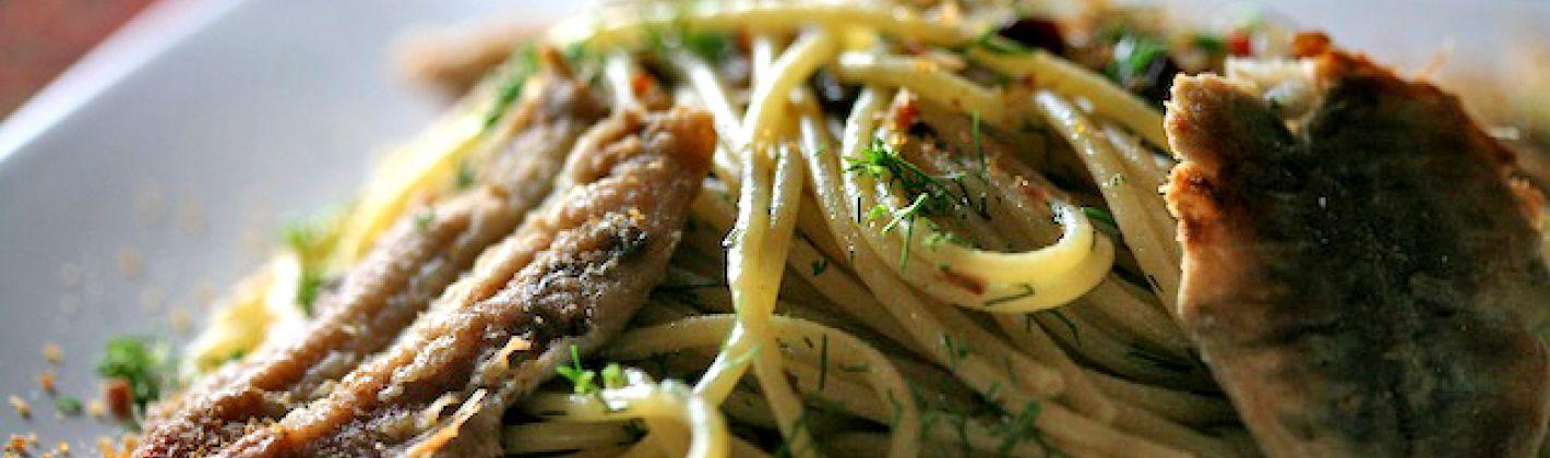 Ricetta spaghetti con il pesce