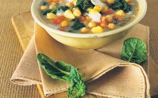 Ricetta minestra di ceci, patate e spinaci