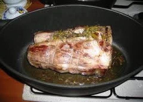 Capocollo di maiale alle cipolle