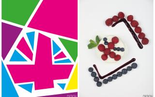 Ricetta design for food | london