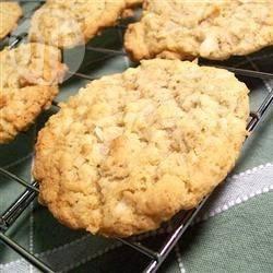 Biscotti al cocco e fiocchi d'avena