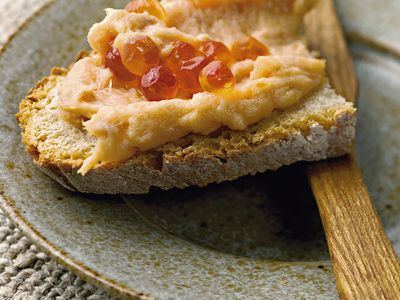 Ricetta paté di sogliola con pistacchi e salmone