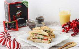 Ricetta club sandwich leggero con senape