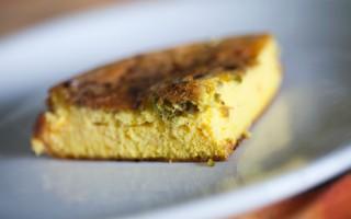 Ricetta frittata soffiata con granella di pistacchi