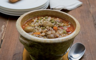 Ricetta zuppa di castagne e legumi