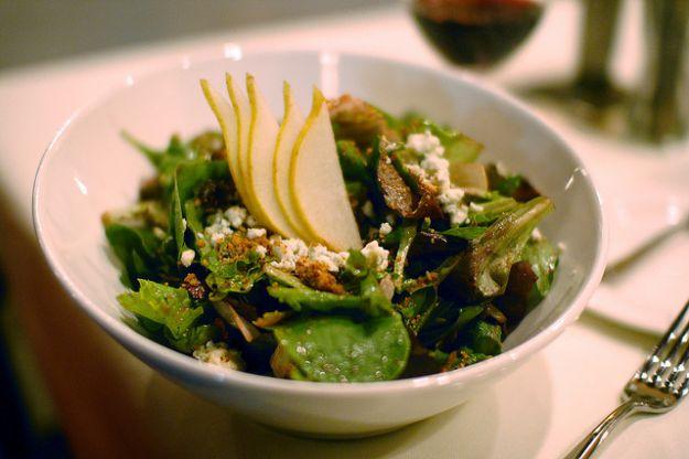 Ricetta insalata con pere e bottarga