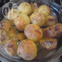 Patate arrosto con origano e curcuma