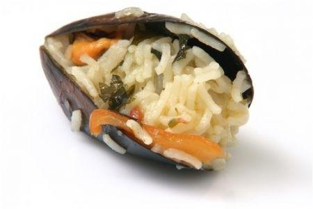 Ricetta cozze ripiene di riso