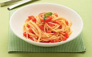 Ricetta spaghetti con sugo al pomodoro crudo