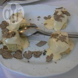 Tocchetti di polenta alla fontina e tartufo