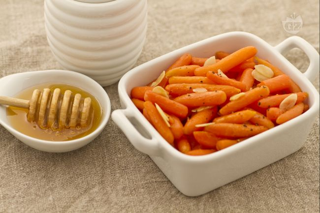 Ricetta carotine al miele