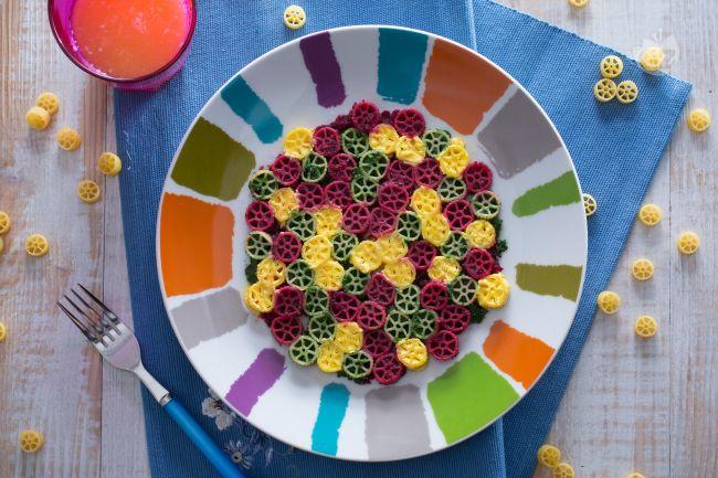 Ricetta ruote millecolori