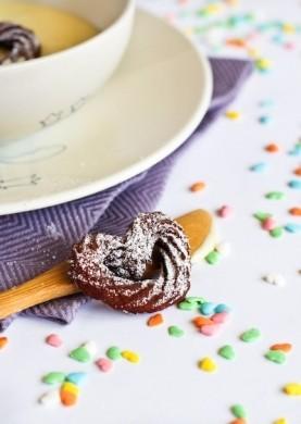 Ricetta mini churros ai lamponi