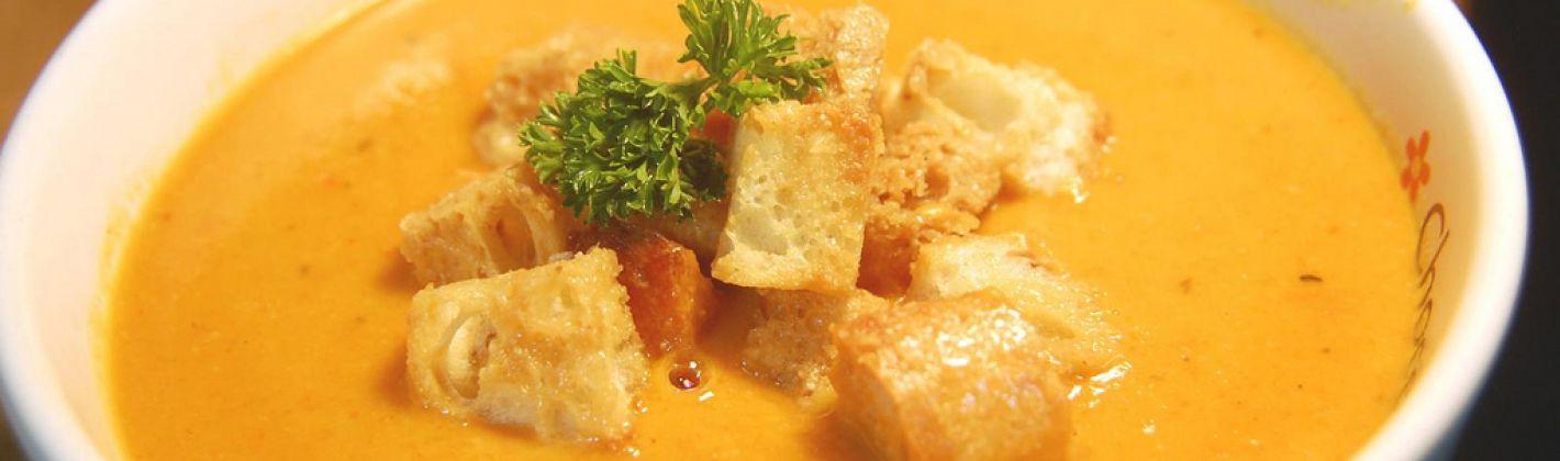 Ricetta minestra di zucca al latte