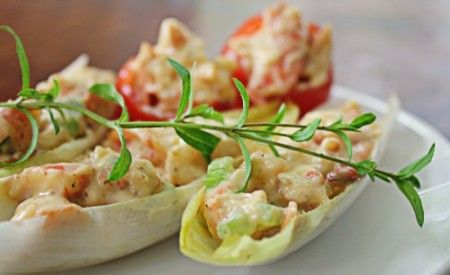 Ricetta insalata di gamberi