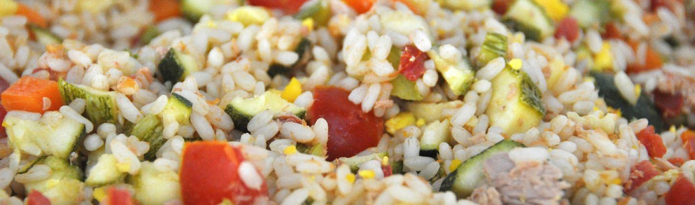 Ricetta insalata di riso con il bimby
