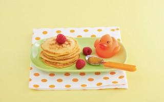 Ricetta pancake di biscotti con confettura