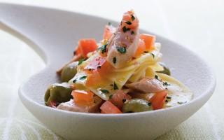 Ricetta maltagliati al tonno e olive