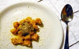 Ricetta gnocchi di zucca con ragù di fegatini di pollo