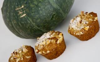 Ricetta muffin di zucca e noci