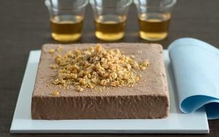 Ricetta semifreddo di cioccolato con il croccante