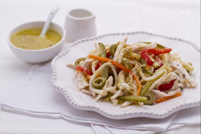 Ricetta insalata di pollo saporita