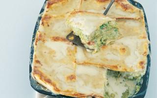 Ricetta lasagne di grano saraceno con broccoli e verza