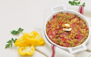 Ricetta peperoni in tortiera