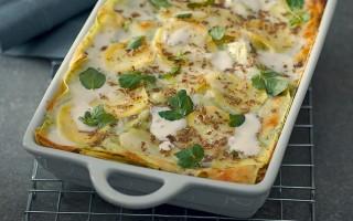 Ricetta lasagne verdi con patate e tartufo