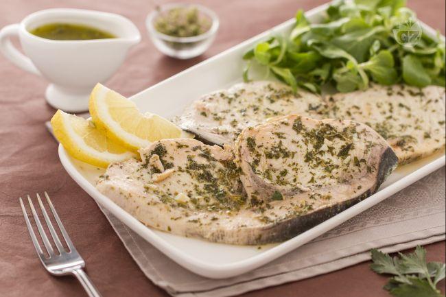 Ricetta pesce spada in salmoriglio