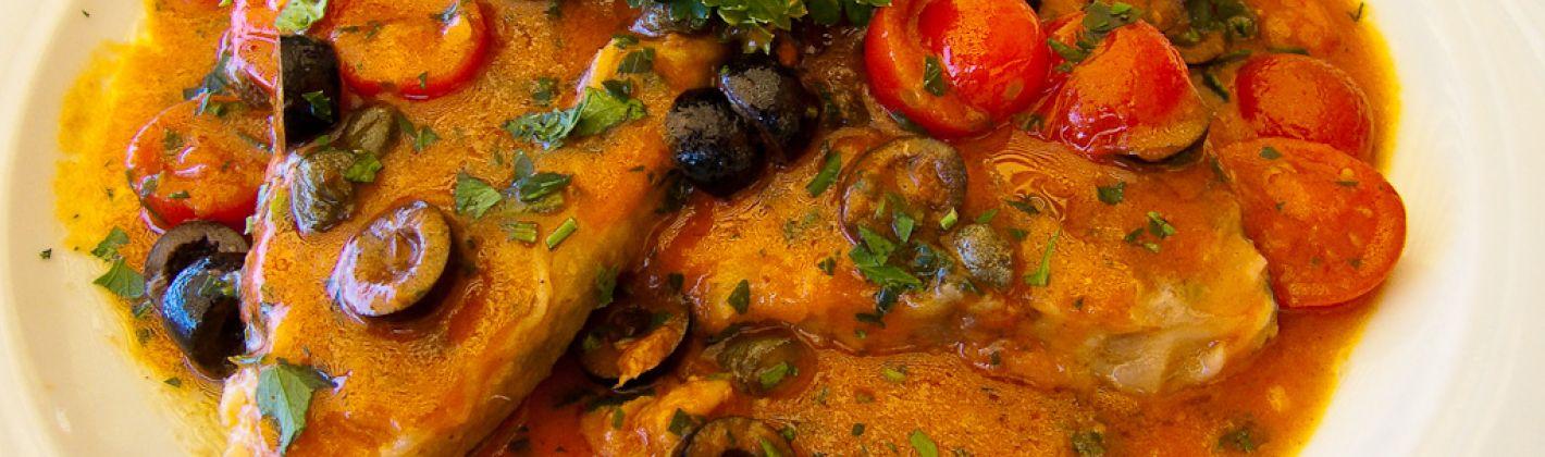 Ricetta pesce spada con olive