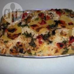 Tiella (riso patate e cozze)