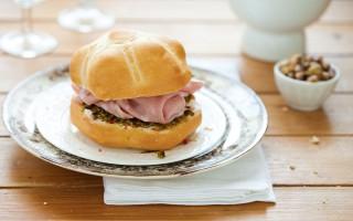 Ricetta panino mortadella, caprino e pesto di pistacchi