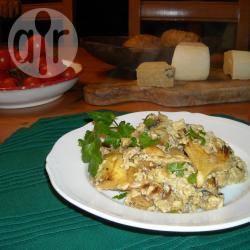 Carciofi al limone con uova