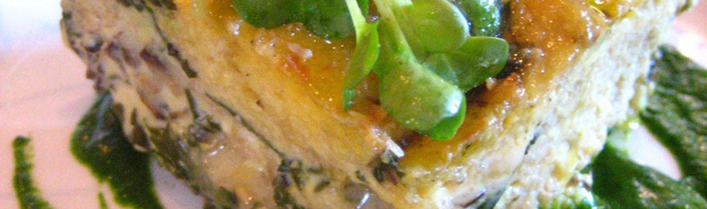 Ricetta flan di verdure e funghi