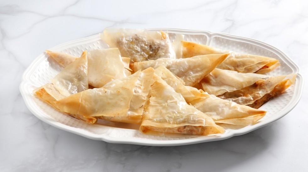 Ricetta fagottini di pasta fillo pere e gorgonzola