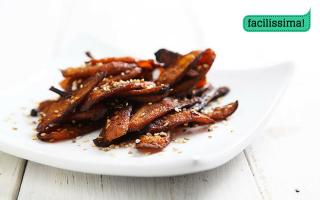 Ricetta carote speziate al forno