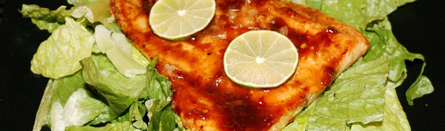 Ricetta salmone allo zenzero