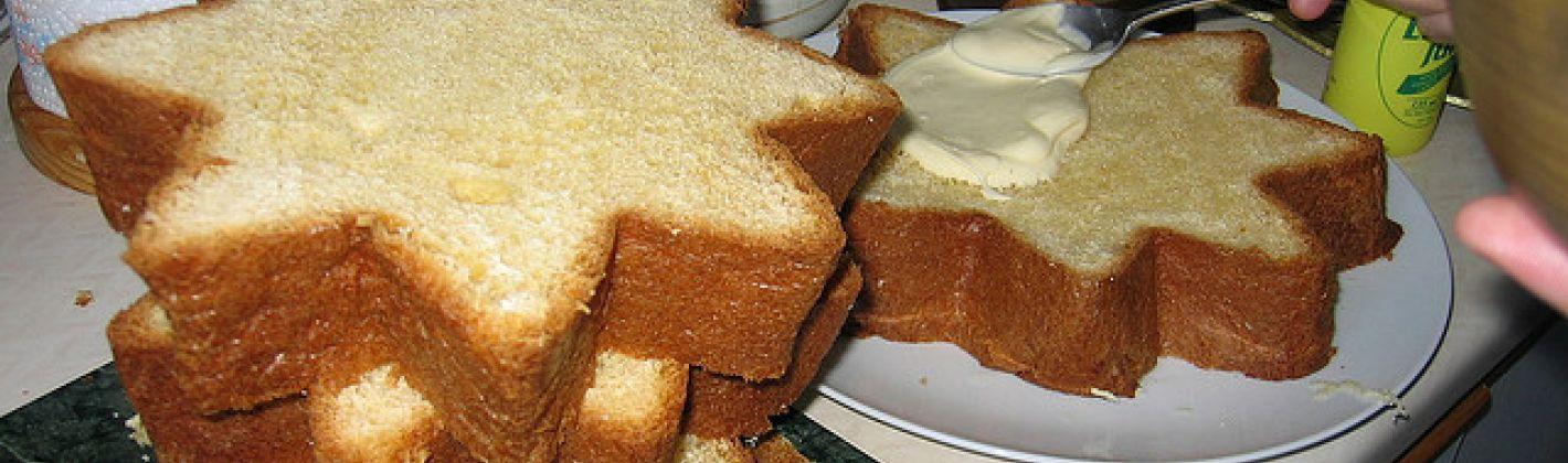 Ricetta pandoro farcito con crema alla vaniglie e mele