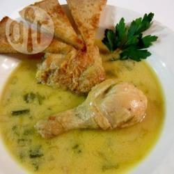 Waterzoi (zuppa di pollo alla belga)