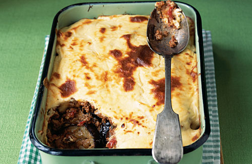 Moussaka allo yogurt